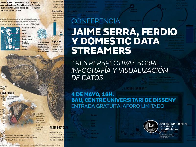 Conferencia Master en Infografía y visualización de datos.