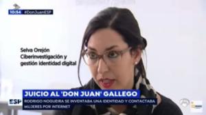 Juicio al Don Juan gallego - Selva Orejón en Espejo Público -Antena 3 (13/09/17)