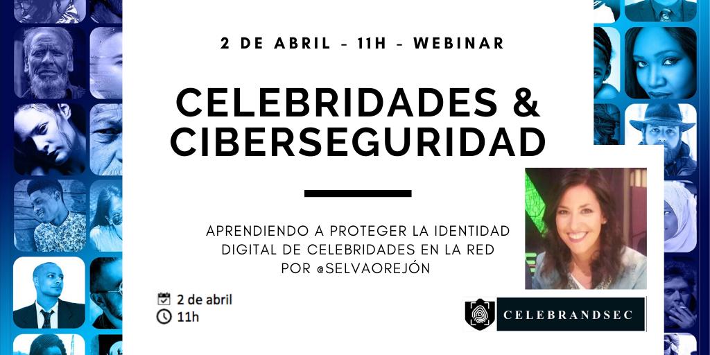 CELEBRIDADES Y CIBERSEGURIDAD COVID19 @ Youtube directo