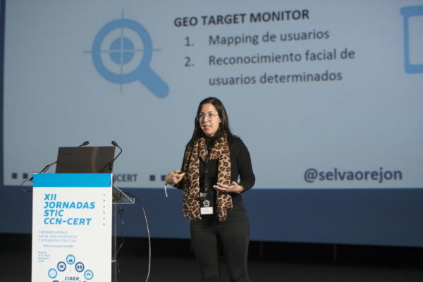 Selva Orejón en las Jornadas CCN-CERT - Monitorización